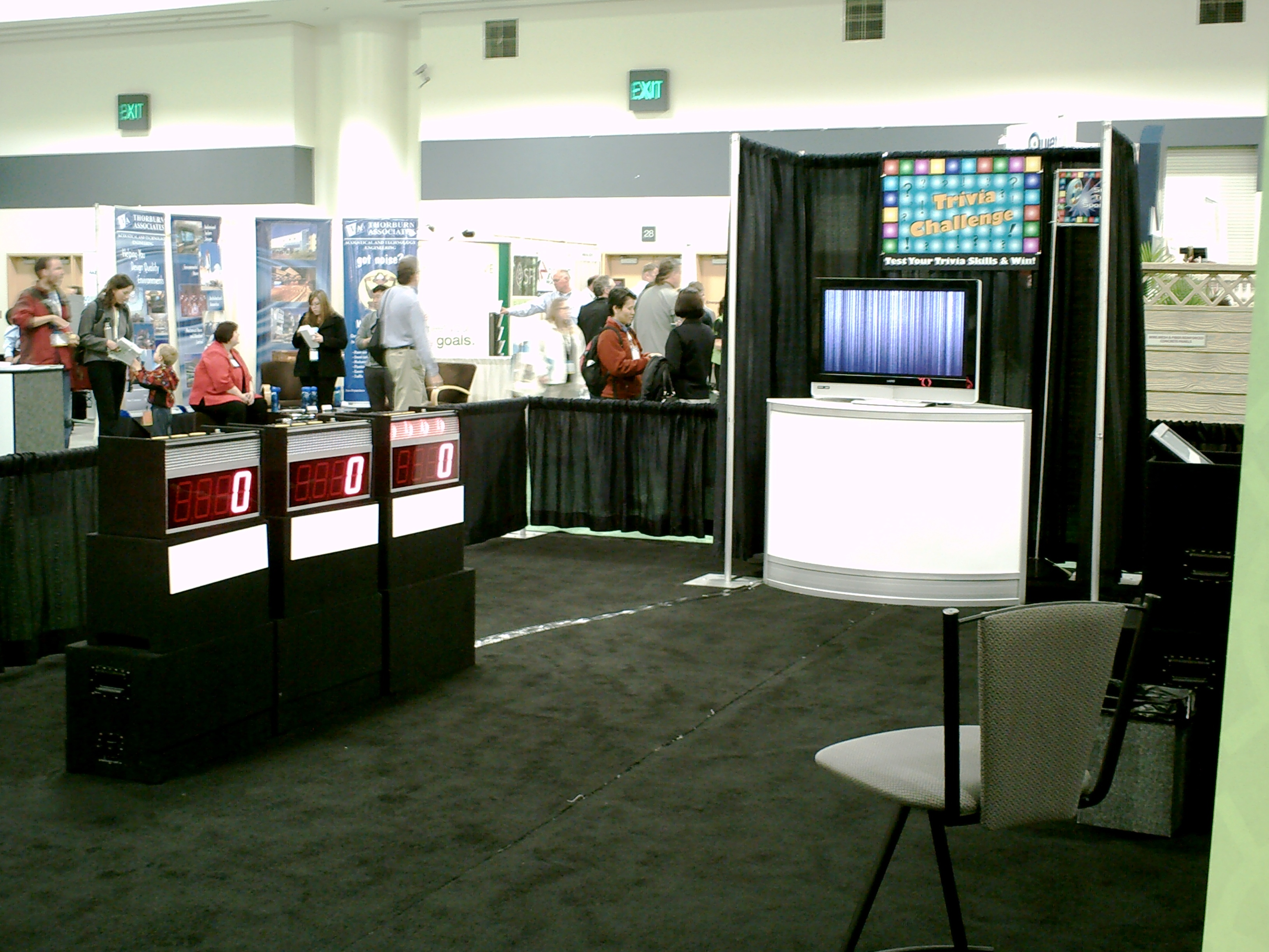 Trade Show Booth Quiz : In booth game showtraffic builders